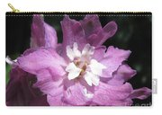 Delphinium Named Magic Fountains Lilac Pink Carry-all Pouch