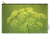 Yellow Dill Flower Carry-all Pouch