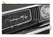 Dodge Challenger Rt Grille Emblem Carry-all Pouch by Jill Reger