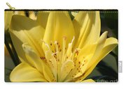 Double Asiatic Lily Named Fata Morgana Carry-all Pouch