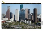 Downtown Houston Skyline Carry-all Pouch