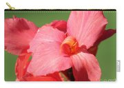 Dwarf Canna Lily Named Shining Pink Carry-all Pouch