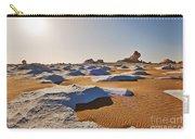 Egytians White Desert Carry-all Pouch