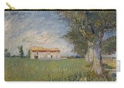 Farmhouse In A Wheat Field Carry-all Pouch