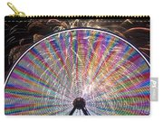 Ferris Wheel And Fireworks Carry-all Pouch