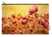 Field Of Poppies Carry-all Pouch