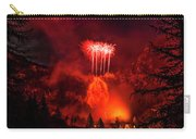 Fireworks Above Toce Falls, Formazza Carry-all Pouch