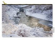 Forest Creek After Winter Storm Carry-all Pouch