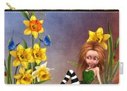 Forest Fairy In The Garden Carry-all Pouch