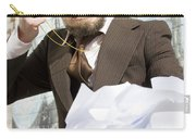 Frustrated Businessman Carry-all Pouch