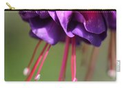 Fuchsia Named Dark Eyes Carry-all Pouch