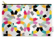 Geometric  Carry-all Pouch by Mark Ashkenazi