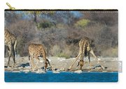 Giraffes Giraffa Camelopardalis Carry-all Pouch