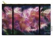 Gladiola Nebula Triptych Carry-all Pouch