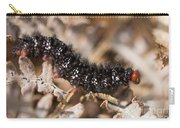Glanville Fritillary Butterfly Caterpillar - Melitaea Cinxia Carry-all Pouch