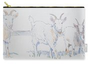 Goat Drawing Carry-all Pouch
