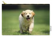 Golden Retriever Puppy Carry-all Pouch