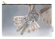 Great Grey Owl Carry-all Pouch