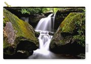Grotto Falls Carry-all Pouch by Frozen in Time Fine Art Photography