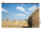 Haystacks In The Field Carry-all Pouch