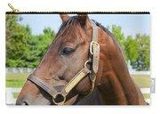 Horse On A Farm  Carry-all Pouch