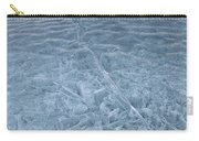 Ice On Abraham Lake Carry-all Pouch