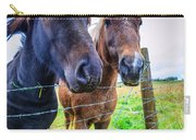 Icelandic Ponies Carry-all Pouch