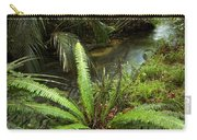 Jungle Stream Carry-all Pouch by Les Cunliffe