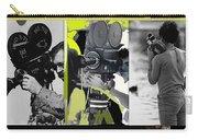 3 Kvoa Tv News Cinematographers Frank Sharkey Dave Sonderegger Jackie Sharkey Tucson Az Collage 2011 Carry-all Pouch