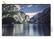 Lake Braies And Dolomite Alps, Northern Carry-all Pouch