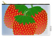3 Little Berries Are We Carry-all Pouch by Andee Design