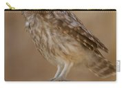 Little Owl Athene Noctua Carry-all Pouch