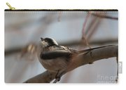 Long-tailed Tit Perched On Twig Carry-all Pouch
