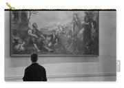 Looking At A Painting Carry-all Pouch