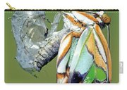 Malachite Butterfly Metamorphosis Carry-all Pouch