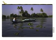 Man Boating On A Salt Water Lagoon Carry-all Pouch