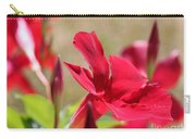 Mandevilla Named Sun Parasol Crimson Carry-all Pouch