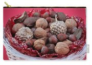 Mixed Holiday Nuts Carry-all Pouch
