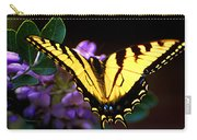 Monarch On Mountain Laurel Carry-all Pouch