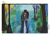 Moonlight Kiss Carry-all Pouch by Leslie Allen