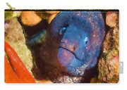 Moray Eel With Starfish Carry-all Pouch