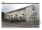 Mural In Shankill, Belfast, Ireland Carry-all Pouch