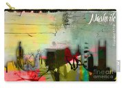 Nashville Skyline Watercolor Carry-all Pouch