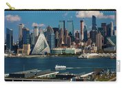 New York City Skyline As Seen Carry-all Pouch