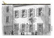 New York: Dispensary, 1868 Carry-all Pouch