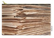 Newspaper Stack Carry-all Pouch