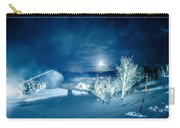 North Carolina Sugar Mountain Ski Resort Winter 2014 Carry-all Pouch