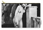 Nude Posing, C1850 Carry-all Pouch