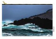 Ocean Foam In Fury Carry-all Pouch