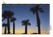 Carolina Palm Sky Carry-all Pouch